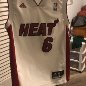 authentic replica lebron james heat jersey